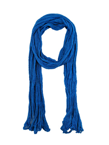 "Simple Scarf ""Royal Blue"""