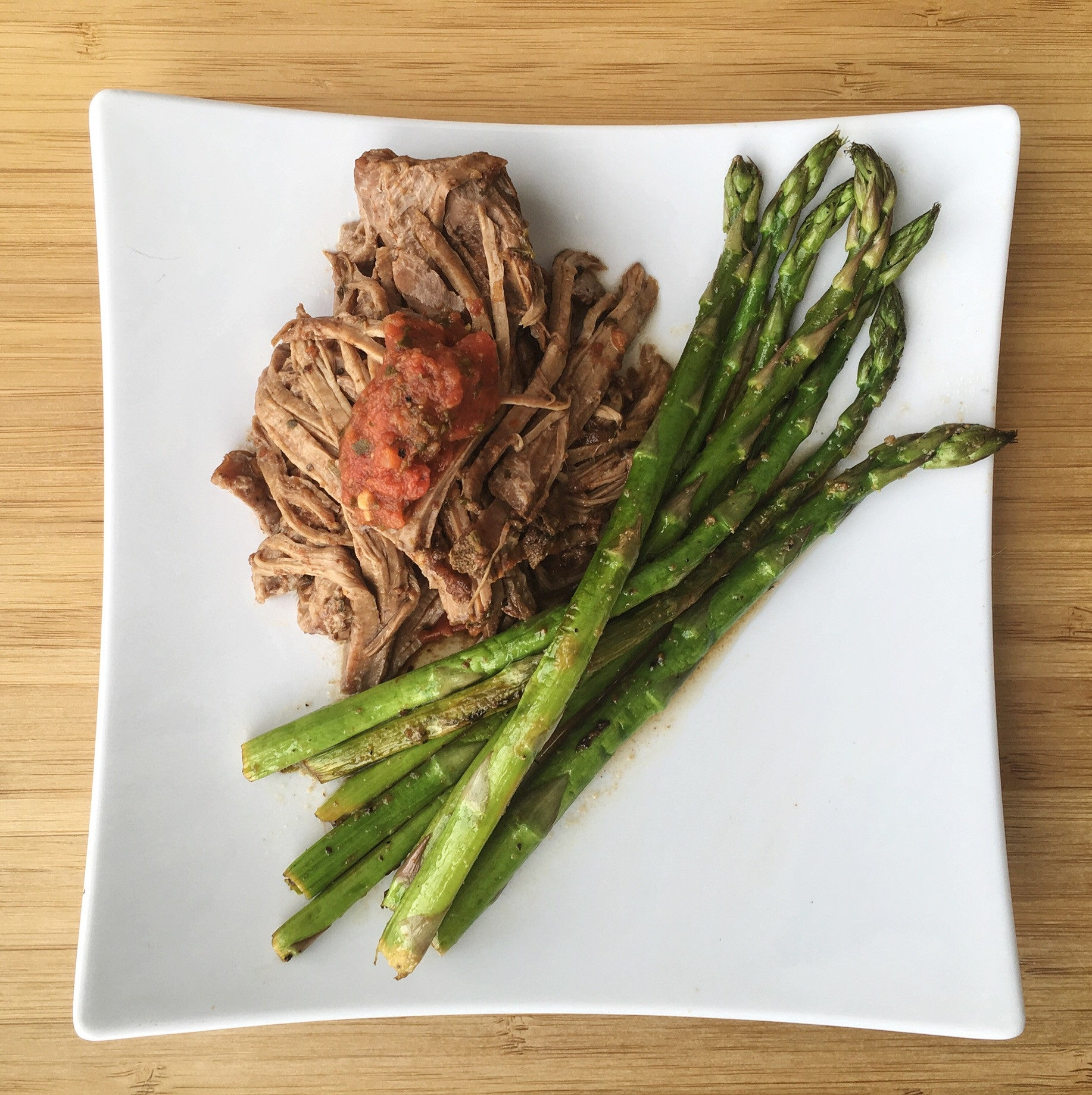 Slow Cooker Roast with Thai Salsa