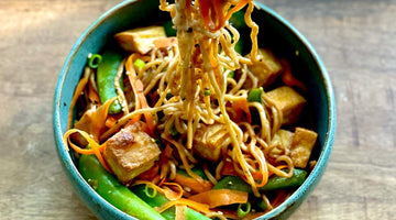 Soba Noodles with Crispy Tofu and Vegetables