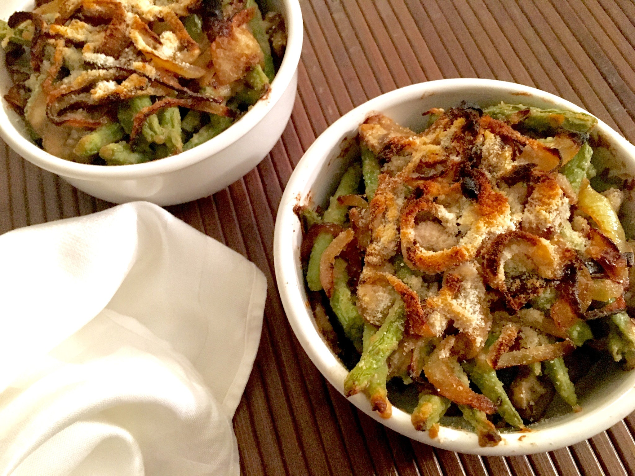 Thai Coconut Green Bean Casserole