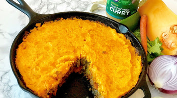Shepherd's Pie with Yai's Thai Yellow Coconut Curry