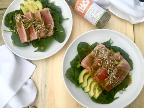 Yai's Thai Ginger Lime Ahi Tuna