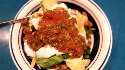 Yai's Thai Burrito Bowls with Thai Salsa
