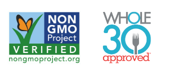 Non-GMO Project Verified | Whole30 Approved