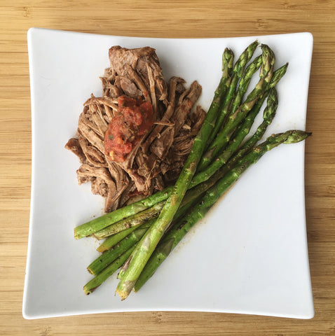 Yai's Thai Slow Cooker Roast with Thai Salsa
