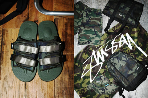 SUICOKE x STUSSY Collaboration