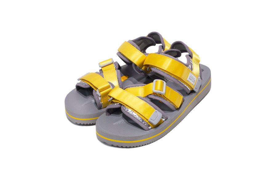 suicoke kisee-veu3 yellow gray