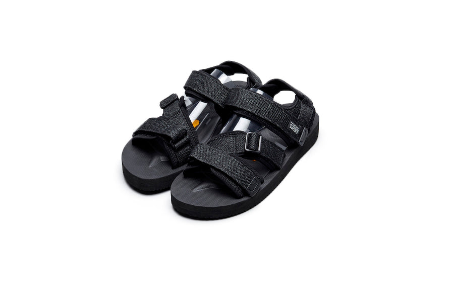 SUICOKE KISEE-VKN Black Sandals