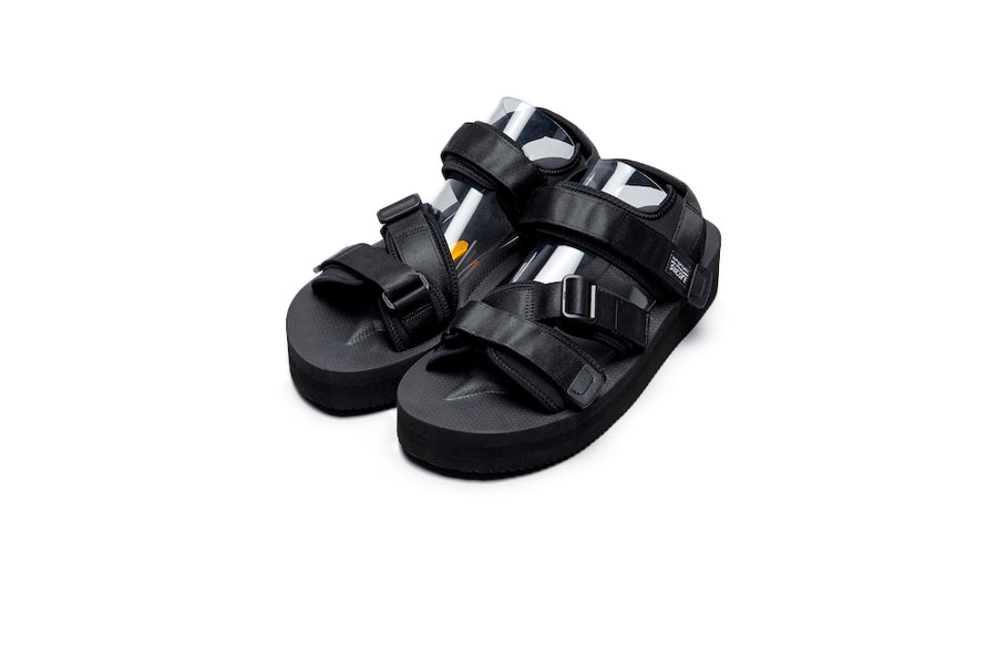 SUICOKE KISEE-VPO Black Sandals