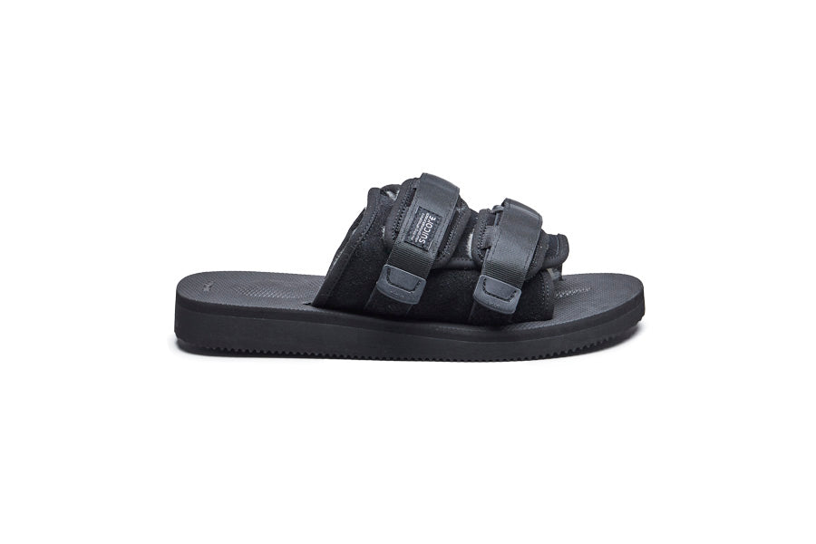 SUICOKE MOTO-MAB slides in Black