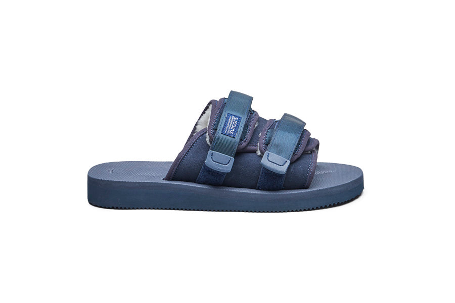 SUICOKE MOTO-Mab slides in Navy