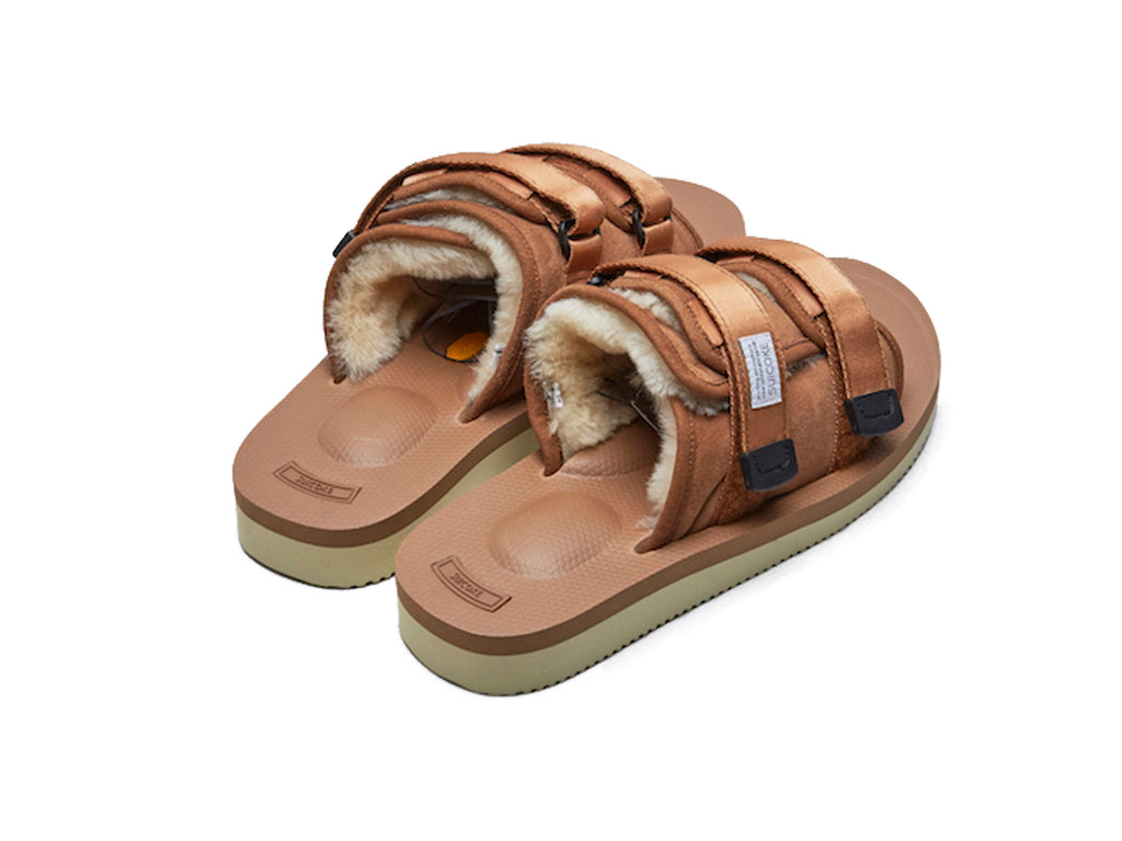 SUICOKE MOTO-VM2 Brown Sandals