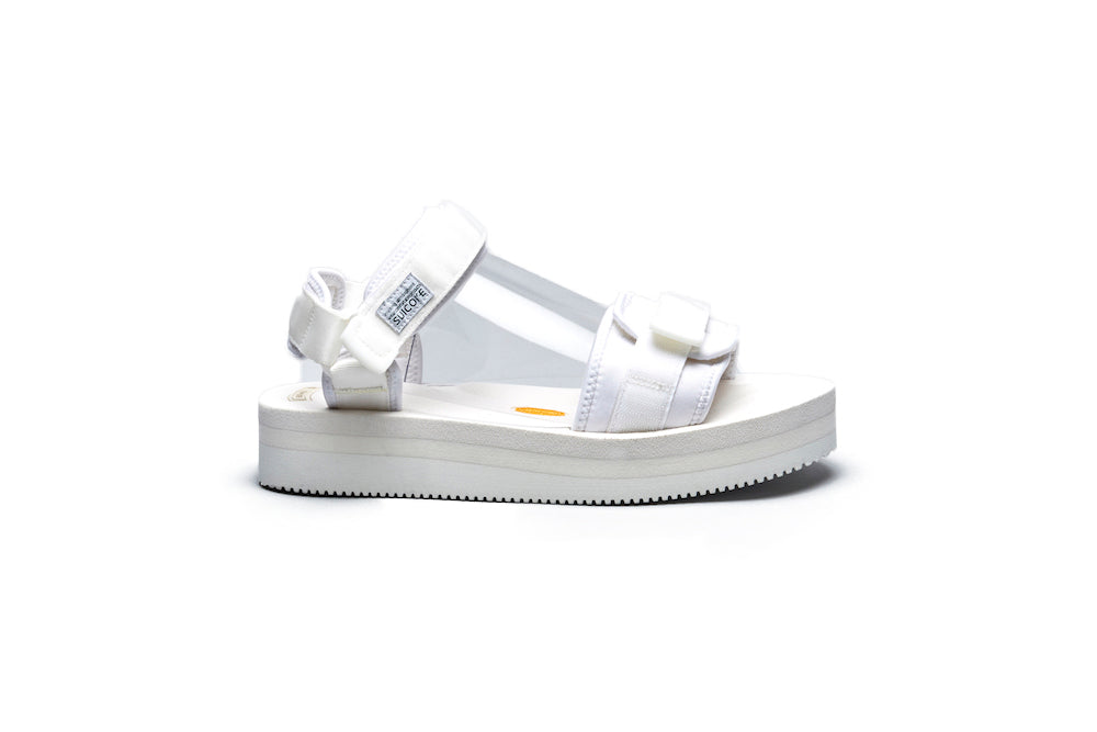 SUICOKE CEL-VPO White Sandals