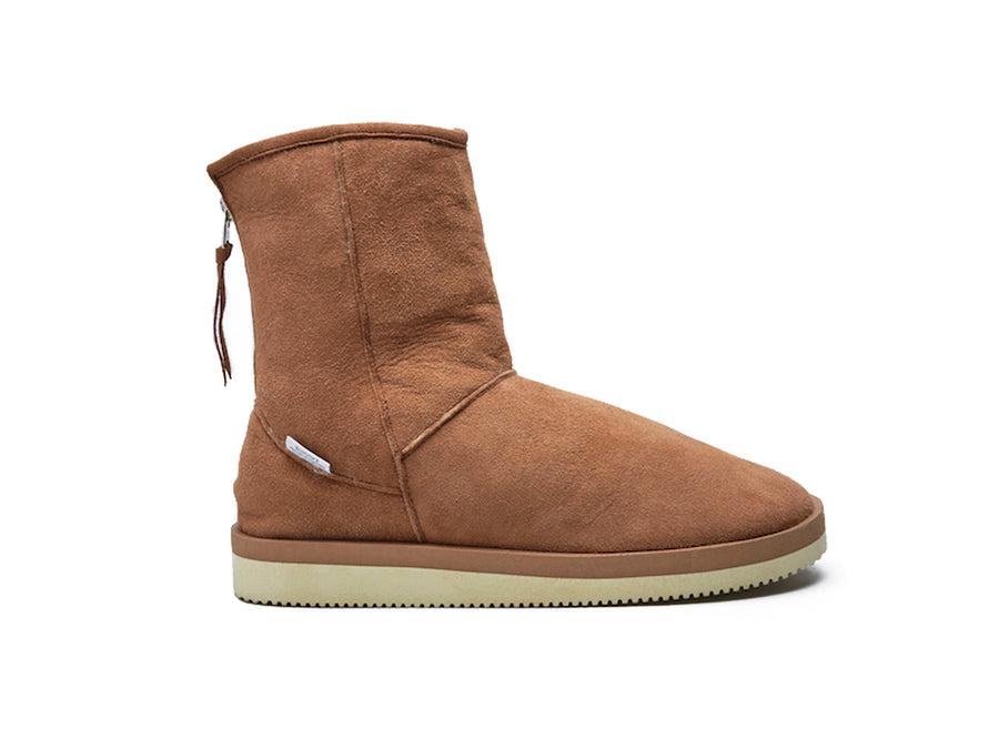 Suicoke Els-Vm2 Brown Boot Shearling Lining