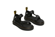 Load image into Gallery viewer, SUICOKE Dr. Martens Collaboration Edition DEPA Sandals in Black Smooth Leather Official Webstore Spring 2021