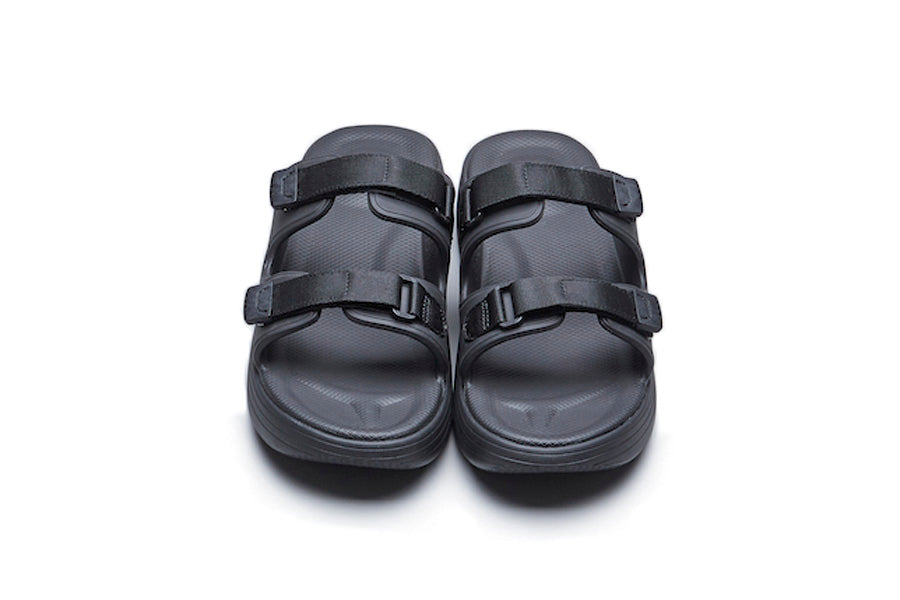 SUICOKE ZONA SANDALS in BLACK