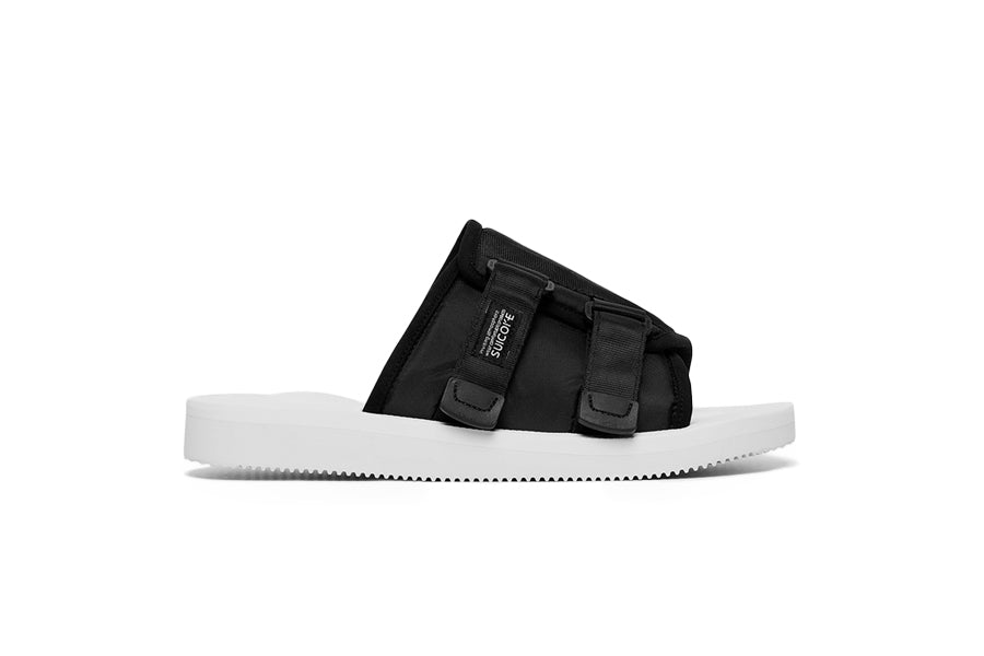 SUICOKE JOHN ELLIOTT BLACK AND WHITE KAW-CAB COLLABORATION