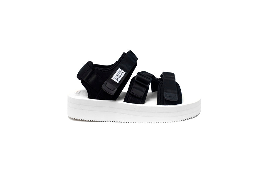 SUICOKE JOHN ELLIOTT BLACK AND WHITE KISEE-VPO COLLABORATION