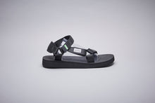 Load image into Gallery viewer, SUICOKE-Sandals-DEPA-CAB - Black-OG-022CAB Official Webstore Spring 2021
