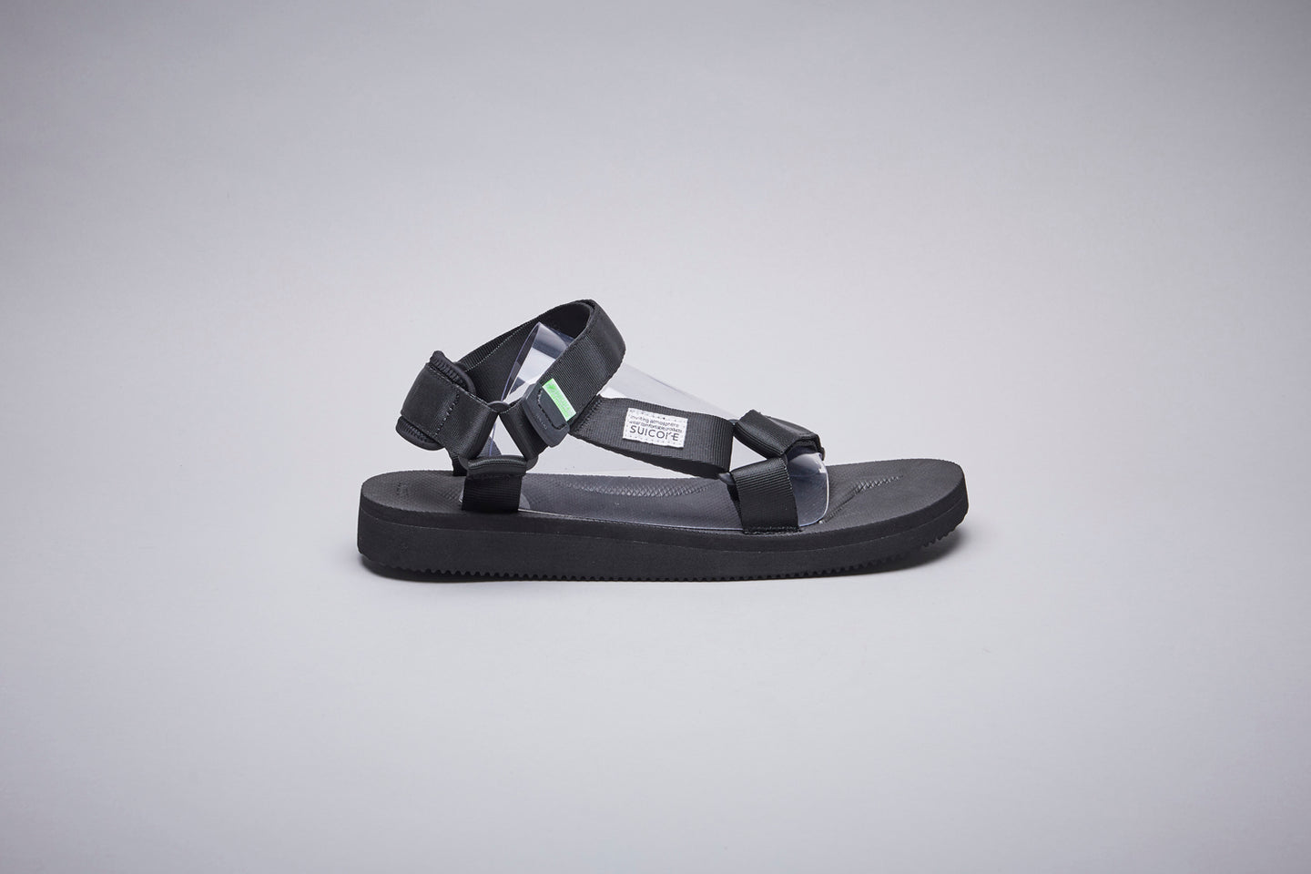 SUICOKE-Sandals-DEPA-CAB - Black-OG-022CAB Official Webstore Spring 2021