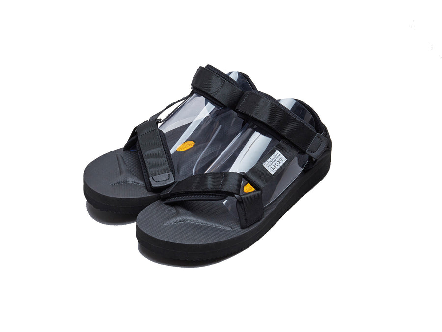 SUICOKE DEPA-V2 Black Sandals
