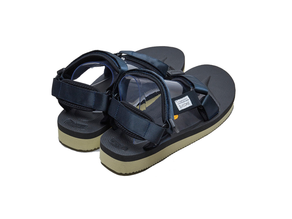 SUICOKE DEPA-V2 Navy Sandals