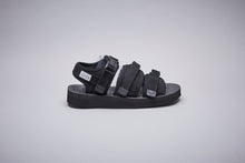 Load image into Gallery viewer, SUICOKE-Sandals-GGA-VNU - Black-OG-052VNU Official Webstore Spring 2021