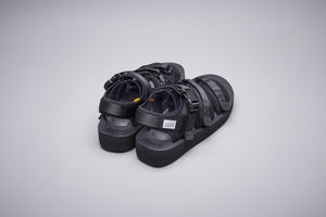 SUICOKE-Sandals-GGA-V - Black-OG-052V Official Webstore Spring 2021