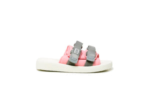 SUICOKE Web Exclusive MOTO-CAB Sandals in Gray/White Official Webstore Spring 2021