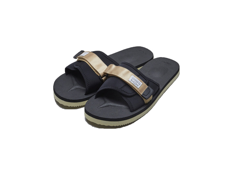 Beige suicoke Slide Sandals from S17 Collection