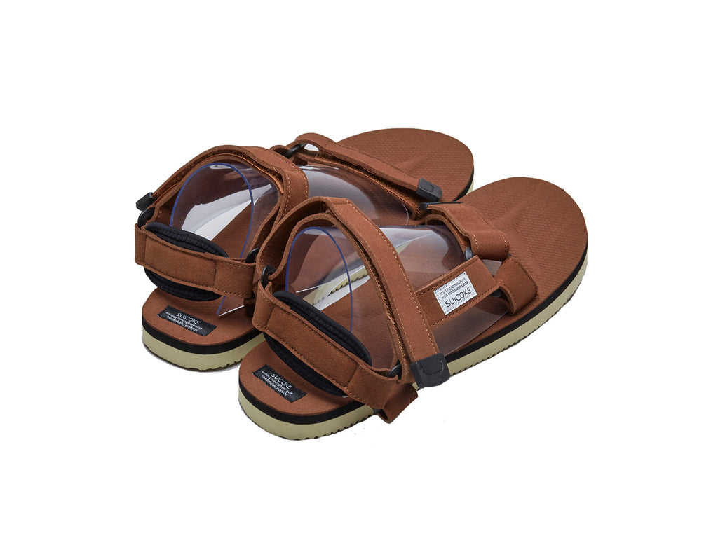 brown depa-ecs suicoke sandal performance back