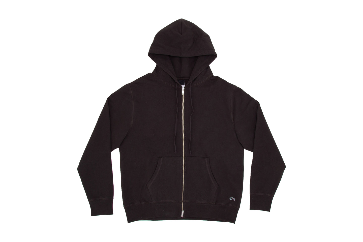 SUICOKE-CLOTHING-ZIP HOODIE E - Ink Black-O2 Official Webstore Spring2021