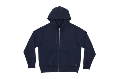 SUICOKE-CLOTHING-ZIP HOODIE E - Navy-O2 Official Webstore Spring2021