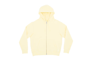 SUICOKE-CLOTHING-ZIP HOODIE E - Yellow-O2 Official Webstore Spring2021