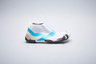 SUICOKE Vibram Five Fingers Collaboration Edition Lower Cut NIN-LO in White/Turquoise Official Webstore Spring 2020