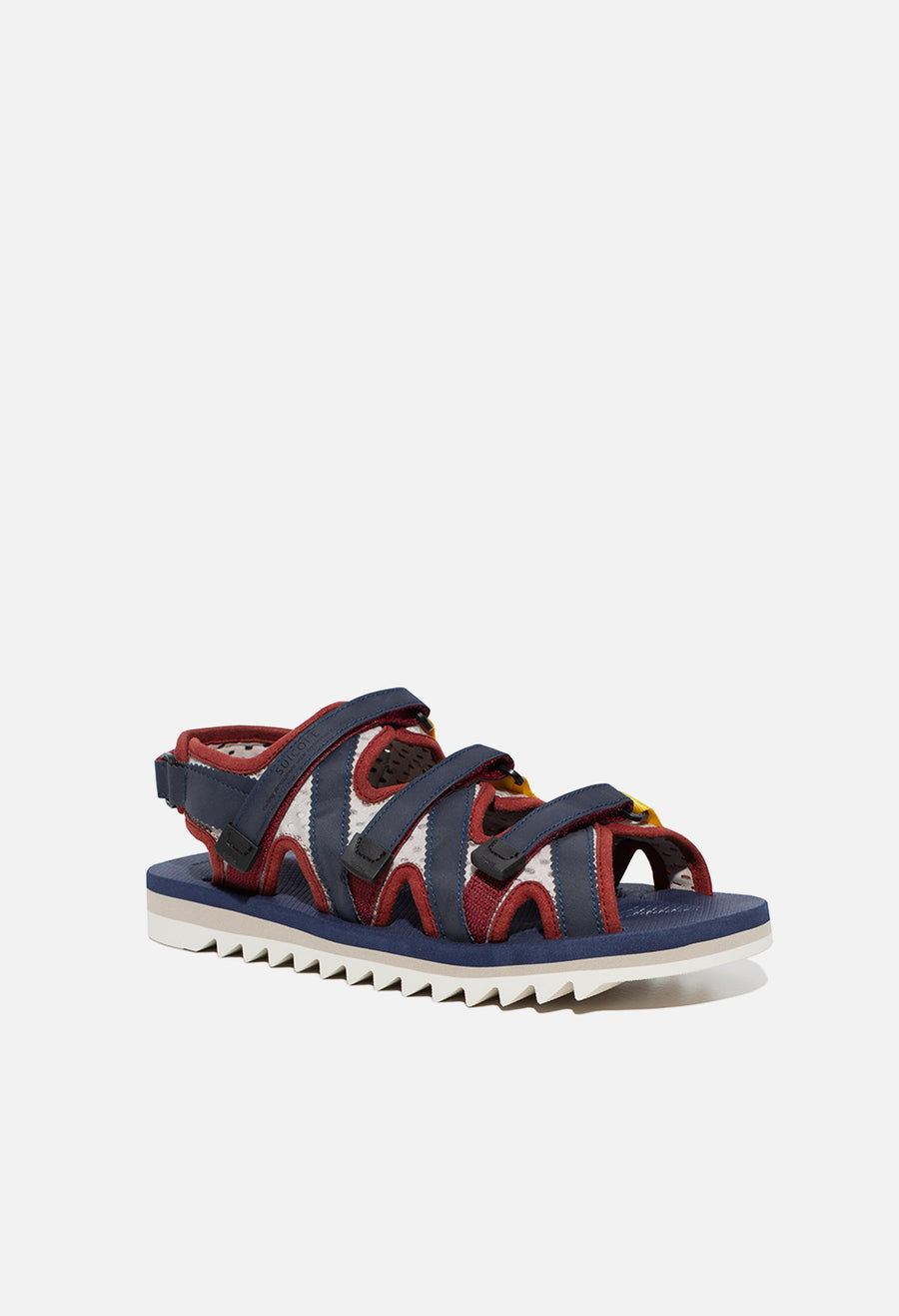 john elliott edition suicoke zip sandal in navy