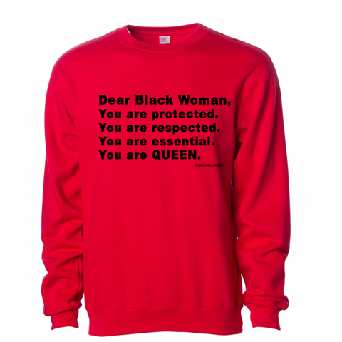 """Dear Black Woman"" Sweatshirt"