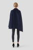 Wool and Cashmere Cape Coat