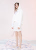 White Sequins Hoody
