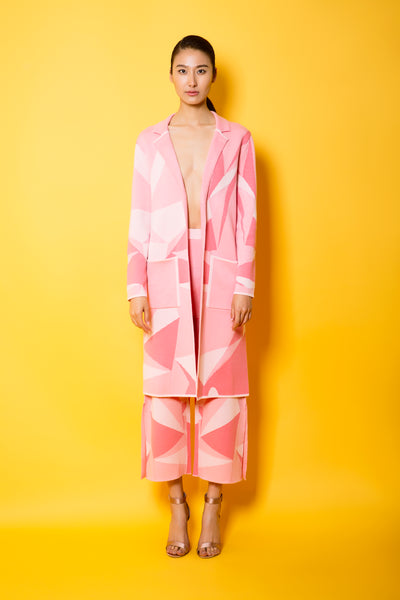 Geometric Graphic Coat