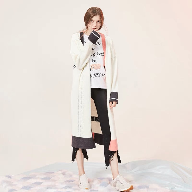 Cartoon Long Cardigan