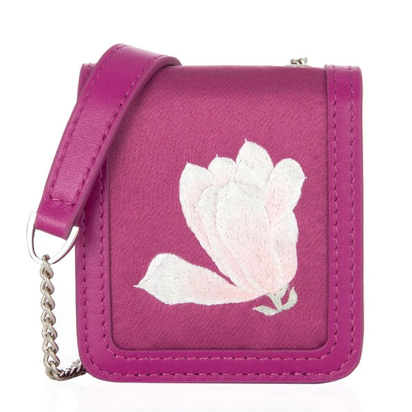 Su Embroidery Mini Crossbody Bag | Magnolia