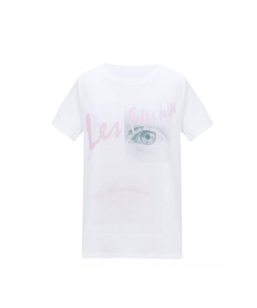 Les Fées de Lan Graphic Pattern T-Shirt