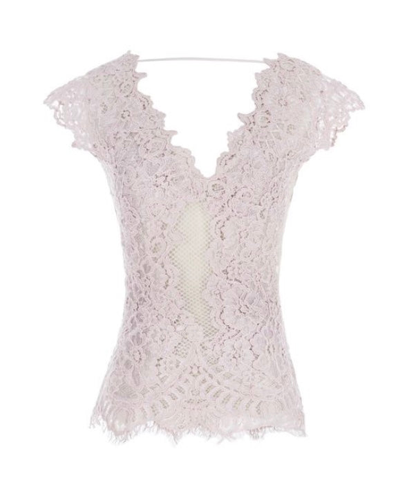 String Lace Top