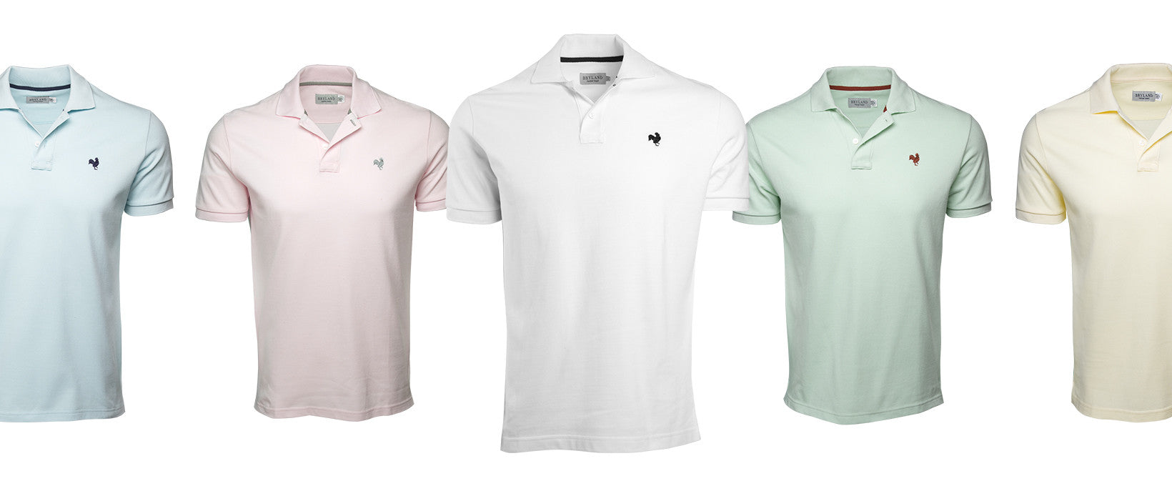 Spring brings new colors to our Polo Shirts