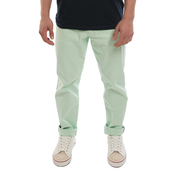 Chino Pant in Blue Crystal - Frontal View