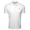 White Polo Shirt with Multi-Color Rooster - Bryland