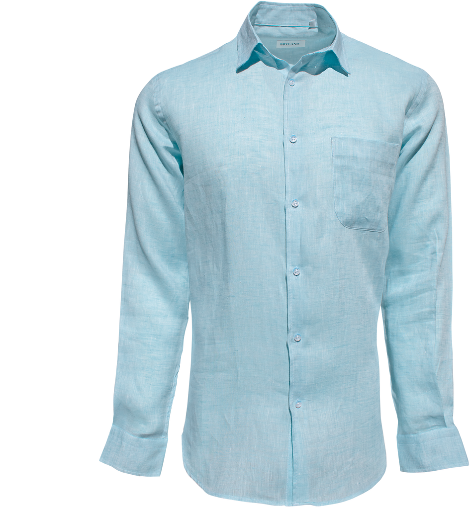 Island Linen  - Sea Green - Bryland