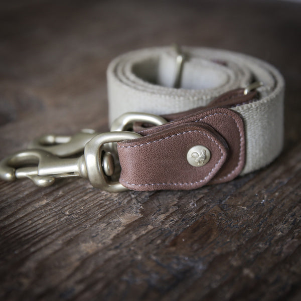 Khaki Solid - Italian Leather Belt - Bryland