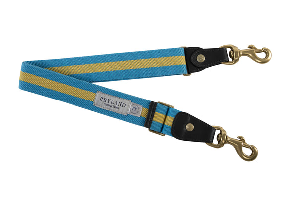 Bahamian Stripe - Uruguayan Leather Belt - Bryland
